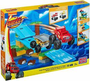 MEGA BLOKS Building Sets Blaze Jungle Ramp Kids Fun Toy Blocks Children  DPH78
