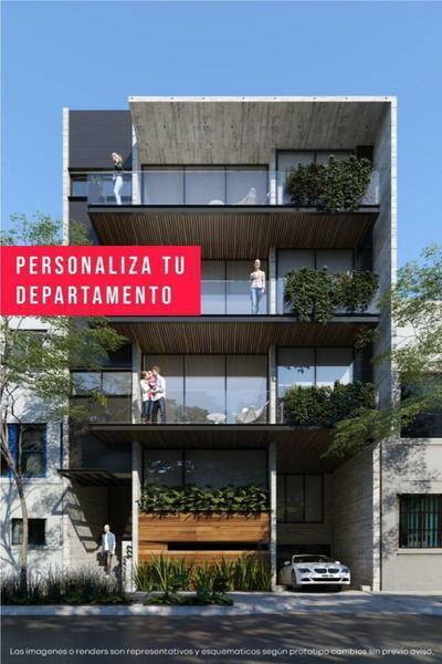 Departamento GHA. Personalizable. 2 Recámaras. 105m2. Terraza. Narvarte Poniente