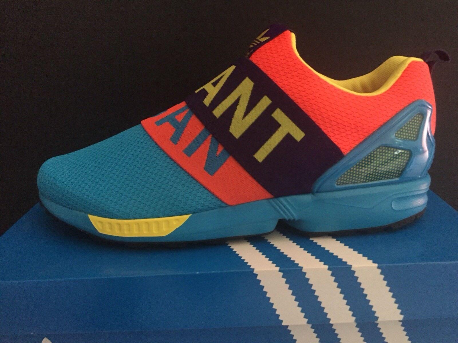 Adidas Zx Flux Slip On Aqua 42 2/3