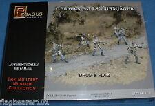 PEGASUS 7224 GERMAN FALLSCHIRMJAGER PARATROOPS 1/72 SCALE UNPAINTED PLASTIC FIGS
