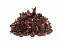 Hibiscus Tea - 8 Oz - Large, Un-cut Easy To Strain Full Leaf Dried Hibiscus