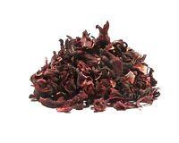 Hibiscus Tea - 8 Oz - Large, Un-cut Easy To Strain Full Leaf Dried Hibiscus