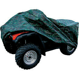XXL Polyurethane Nylon ATV Cover Woodlands Camo UV resistant water repellant