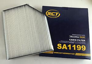 Espacio-interior-filtros-filtro-de-polen-sct-Germany-audi-a4-8k-b8-a5-8t-8f-q5-8r