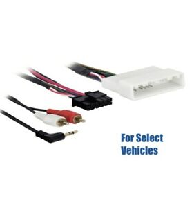 Toyota Aux Input Connector Scosche Radio Wiring Harness for 2004