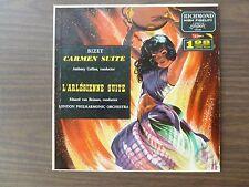 BIZET CARMEN SUITE Anthony Collins / L'ARLESIENNE SUITE Eduard van Beinum 12'LP