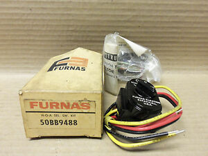 Details about NEW FURNAS SELECTOR SWITCH KIT, 50BB9488, HAND/AUTO/OFF