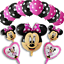 Disney-Minnie-Mouse-Birthday-Balloons-Foil-Latex-Party-Decorations-Gender-Reveal thumbnail 7