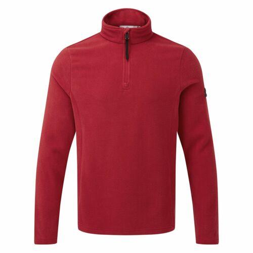 Tog 24 Shire Mens Fleece Zipneck Chilli Red