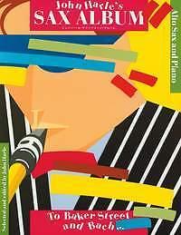 Sheet Music & Song Books Frugal Harle Sax Album To Baker St & Bach Alto Sax& Pian*
