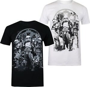 Stormtrooper-Trio-Men-039-s-T-Shirt-Han-Solo-A-Star-Wars-Story-Official
