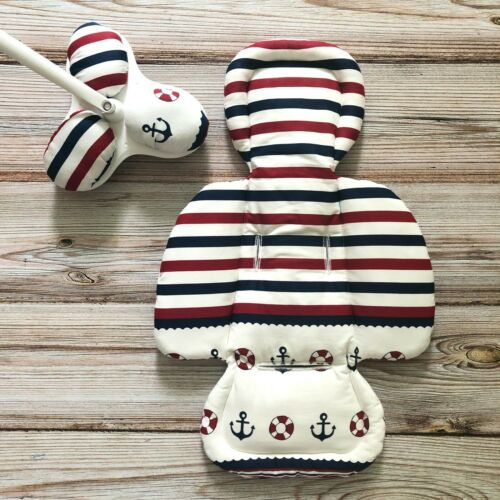 Sea Theme Anchor Set Insert for mamaRoo 4moms Infant Seat with matching toys