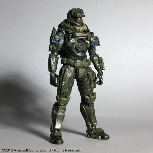 Halo Reach Square Enix Play Arts Kai Serie 1 acción figura Warrant Officer Jun