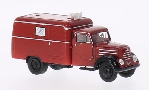 Robur Garant Koffer, Koffer, Koffer, Feuerwehr Nachrichtenw H0 DDR Modell 1 87, Brekina 30712 85adae