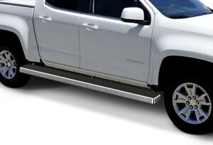 Wheel To Wheel Running Boards >> Details About Wheel To Wheel Running Boards 6 Inch Fit 15 20 Colorado Canyon Crew Cab 5ft Bed