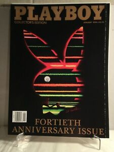 PLAYBOY-January-1994-Collectors-Edition-40th-Anniversary-Issue