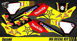 MakitaEbay Déco Atv 400 Decal Kit Quad Suzuki Ltz OPkiXuZ