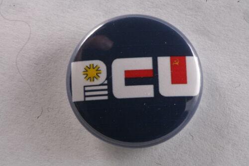 "Uruguay Communist Party PCU Broad Front Pin Badge Button 1/"" Jose Mujica"