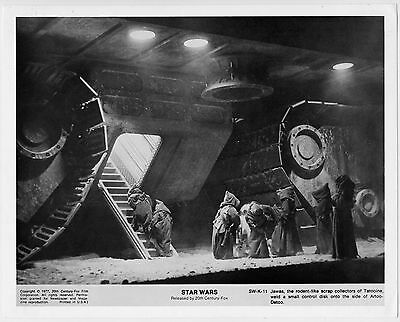 Star Wars 1977•Original Vintage Photo Still 8x10•National Screen•Jawas Sw-K-11