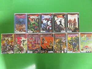 Secret-Wars-Journal-Battle-World-Ultimate-End-Run-Lot-12-Comics-Bendis-Marvel