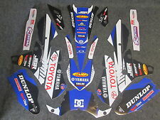Yamaha YZF250 YZF450 2014-2016 Yamaha JGR Team graphics kit + plastic set GR1021