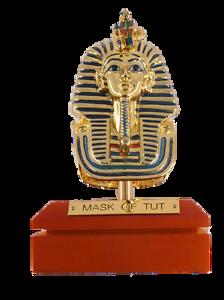 **Rare** King Tut (Tutankhamun) Mask Statue Replica, Ancient Egyptian Statues