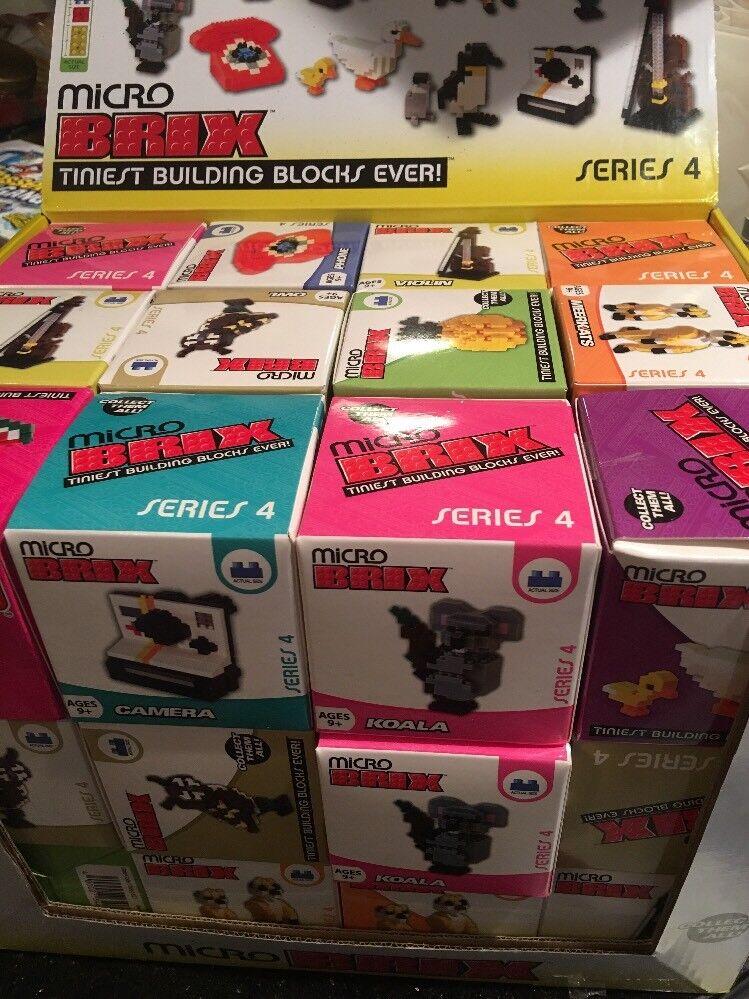 36x mikro - brix - serie 4 kasten 36 neue box geige koala - eule erdmännchen.