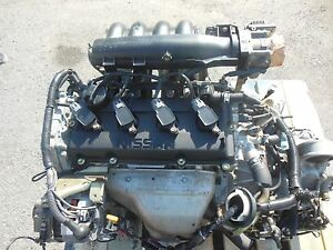 Nissan altima engine in complete engines ebay autos post for Motor oil for 2002 nissan altima