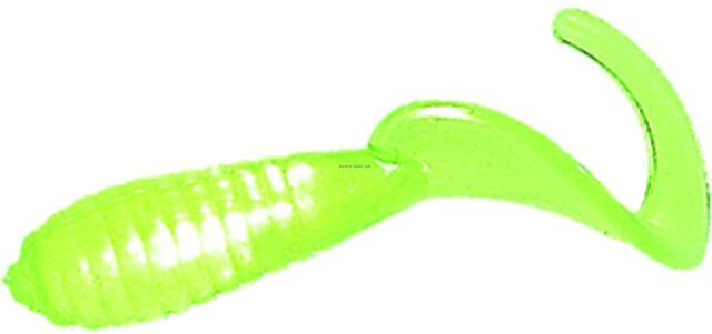"Mister Twister 1/"" Lil Bit Chartreuse 20 Count Pack for sale online"