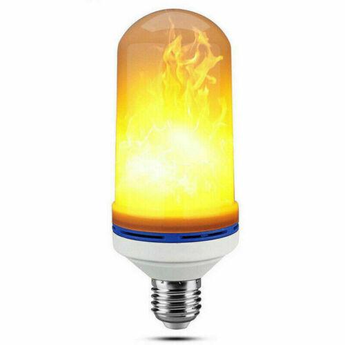 E27 E14 LED Licht Fackel Feuer Lampe Flammen Effekt Glühbirne Flacker Birnen DE