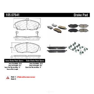 Disc Brake Pad Set-ThermoQuiet Disc Brake Pad Front fits 98-02 Honda Accord