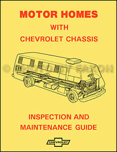 1974-Chevy-Motor-Home-Chassis-Inspection-and-Maintenance-Guide-Manual-Chevrolet