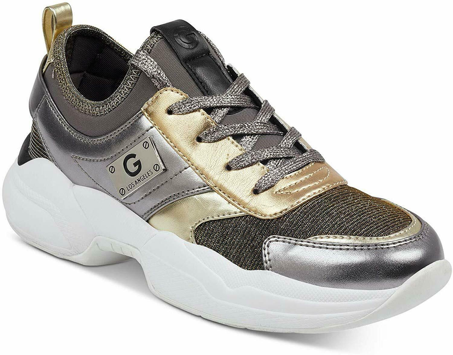 G By Guess Damen Jimmi 2 Niedrig Top Schnüren Fashion Sneakers