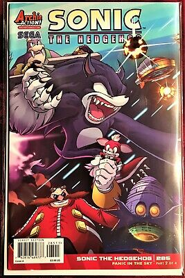 SONIC The HEDGEHOG Comic Book #285 July 2016 First Edit Bagged /& Boarded MINT