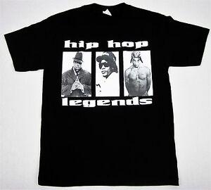 c94bd17ef TUPAC BIGGIE EazyE T-shirt Hip Hop Legends Rap Notorious B.I.G. 2Pac ...