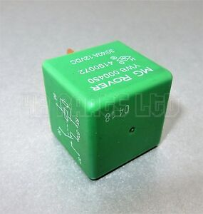 MG-Rover-Mini-45-25-75-Land-Rover-5-Pin-Green-Relay-Multi-Use-YWB000450