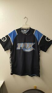 Fox-Racing-Shox-Shirt-Mens-Navy-Blu-by-Sugoi-Size-S