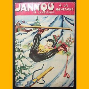 Album à Colorier Jannou À La Montagne Maury 1955