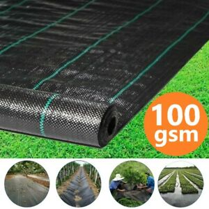 10M-50M Long Weed Control Fabric Membrane Garden Ground Barrier Cover Landscape