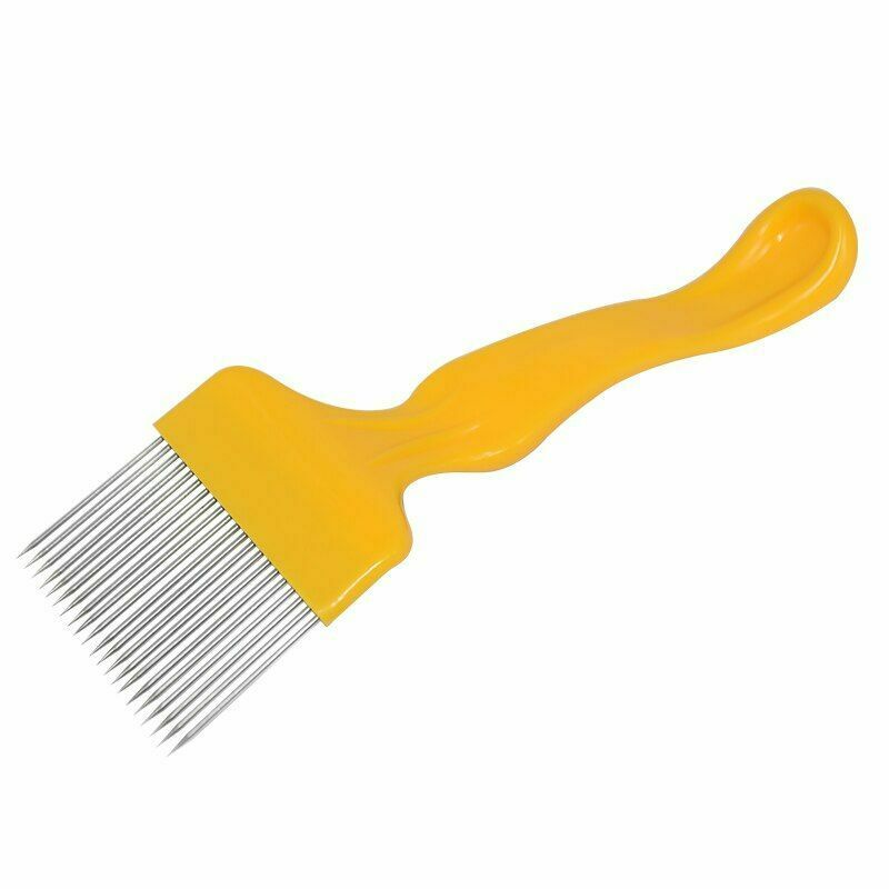 Beekeeping Tools 21 Pin Straight Needles Uncapping Forks Handle Stainless Steel