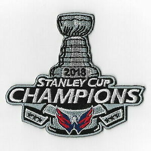 best service cd0dd 1a002 NHL Washington Capitals 2018 Stanley Cup Champions Iron on Patches Patch a