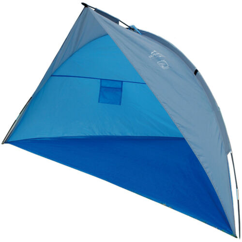 EXPLORER Strandmuschel Pop Up Automatik UV 60 Beach Camping Windschutz 80