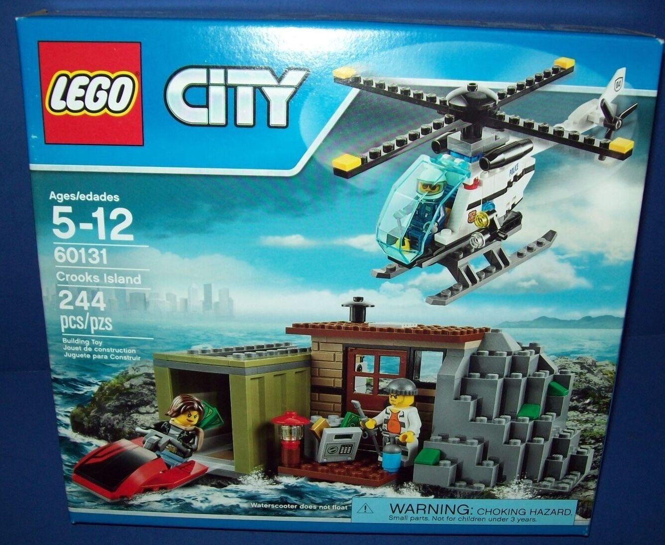 LEGO City 60131 CROOKS ISLAND retired