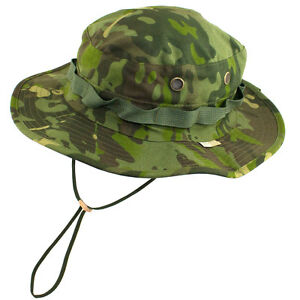 Tru-Spec Tropical Multicam Boonie Hat Ripstop Mil-Spec Material Made ... ad5d0f53539
