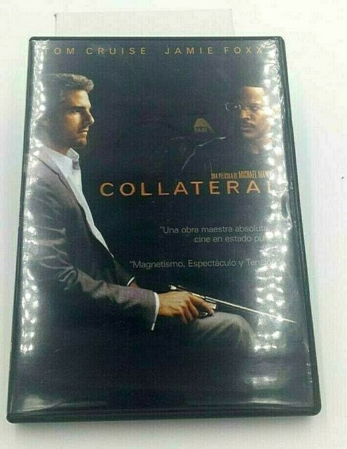 Pelicula Collateral Español DVD Original Nuevo Tom Cruise Jamie Foxx
