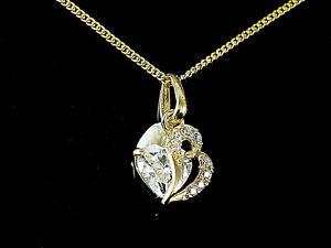 333-Gold-kleiner-Herz-Anhaenger-mit-Goldkkette-mit-Zirkonia-Steinen-13-x-6-4-mm