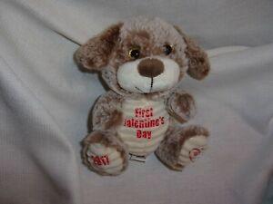 44f69bba3ee3 kellytoy kelly 2017 tan first valentine's day puppy dog corderoy ...