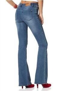 19 Blau gr Stretch 17 Damen Hose 18 Utilis Jeans Kurz Bootcutcut Arizona 21 20 qXRZAA