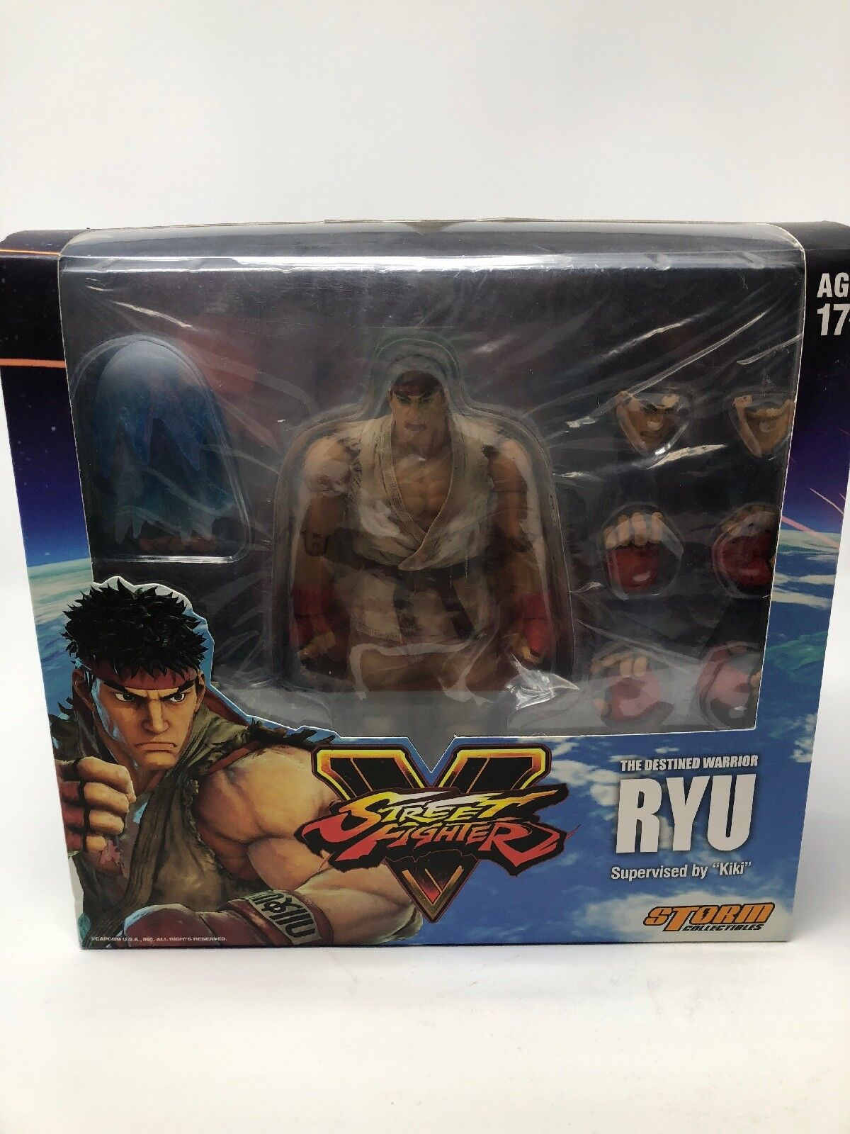 Street Fighter  Ryu escala  Figura de Acción  ves  tormenta Collectibles