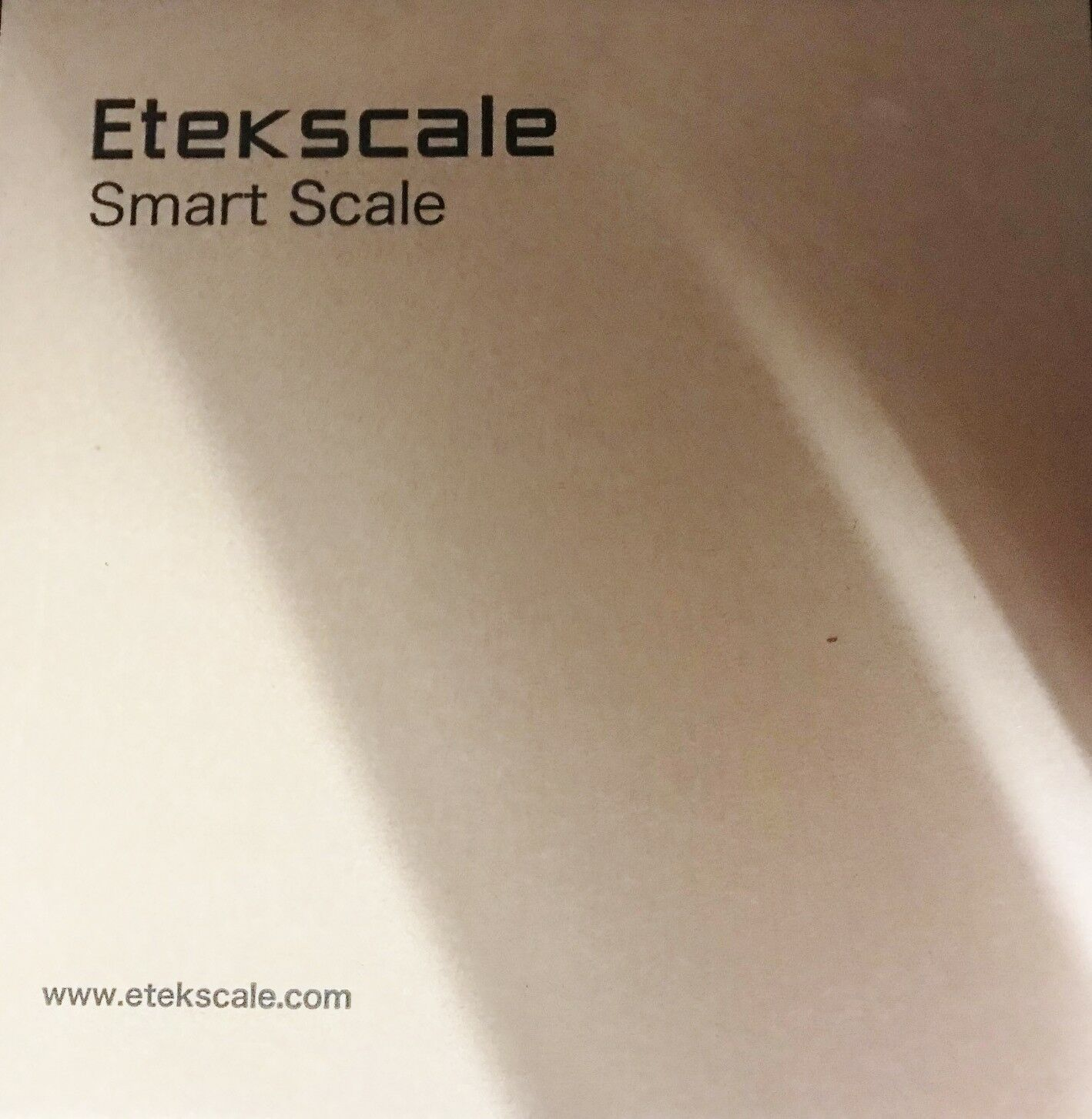 BODY FAT SCALE, etekscale bleuTOOTH BODY FAT SCALE avec iOS et Android, Digital